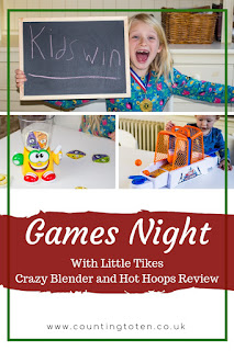 Games Night With Little Tikes. Crazy Blender and Hot Hoops review