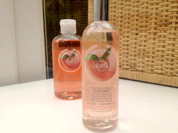 The Body Shop Vineyard Peach Body Mist