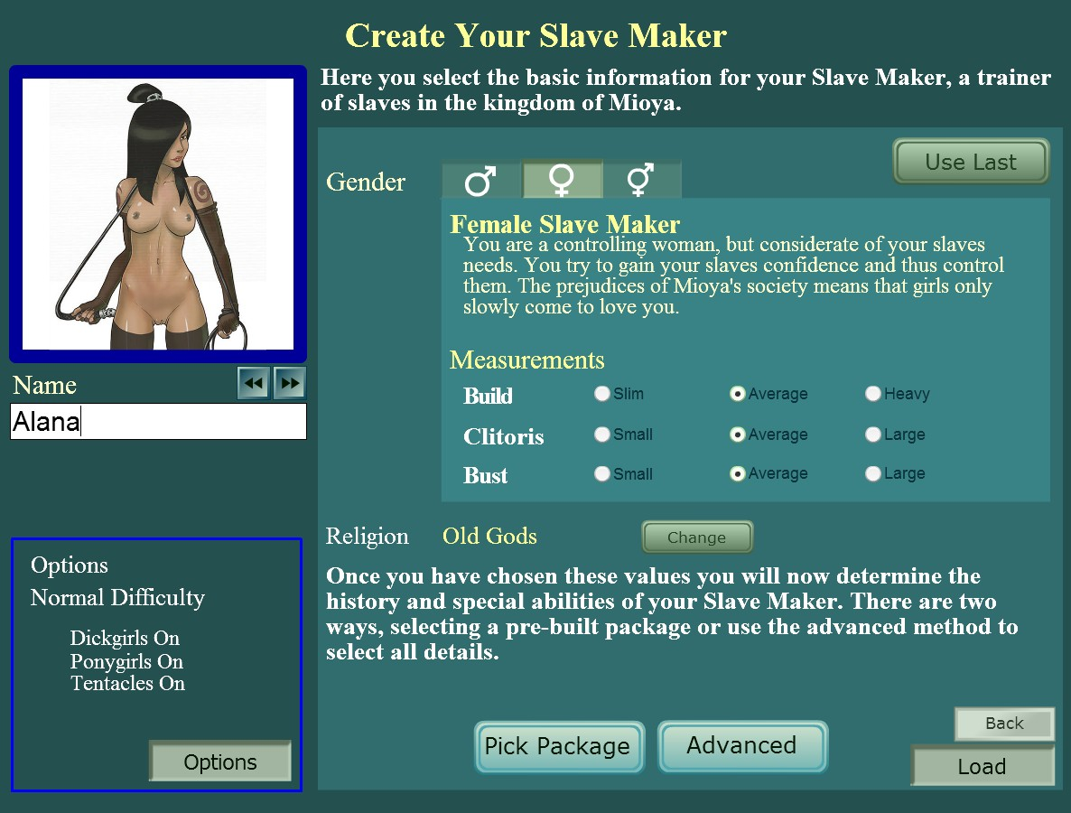 Slave Maker version 3.2