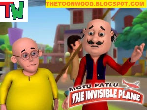 "Watch Online And Download Motu Patlu New Movie ""Motu Patlu: The Invisible Plane"" Full Movie In Hindi In 1080p,720p, HD  Only On TOONWOOD"