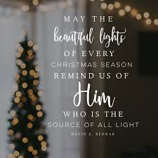 Christmas quotes light