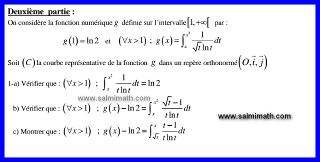 جميع امتحانات الباكالوريا الدولية للرياضيات من 2010 الى 2015 باللغة الفرنسية bac international math