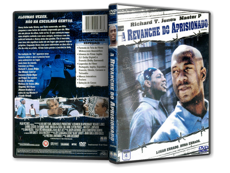 Capa DVD A Revanche do Aprisionado