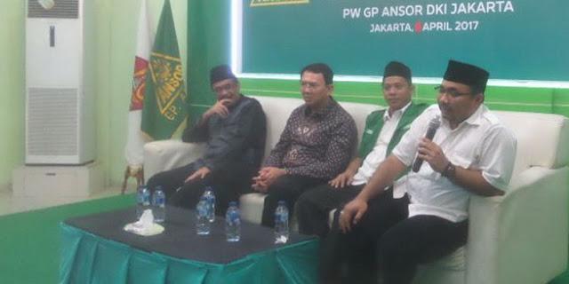 """Tambah Ngawur, Ketua GP Anshor Sebut Ahok """"Sunan Kalijodo"""""""
