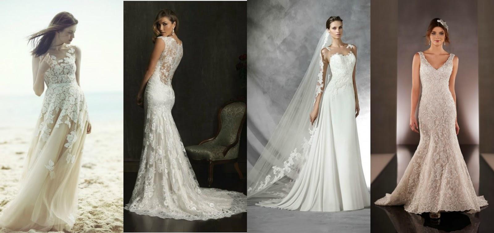 Fashionable Modern Day Vintage Wedding Dresses