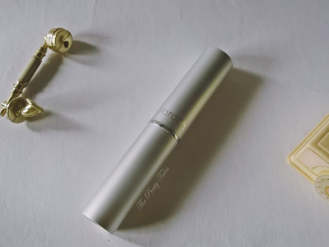 wardah long lasting lipstick 03 simply brown review