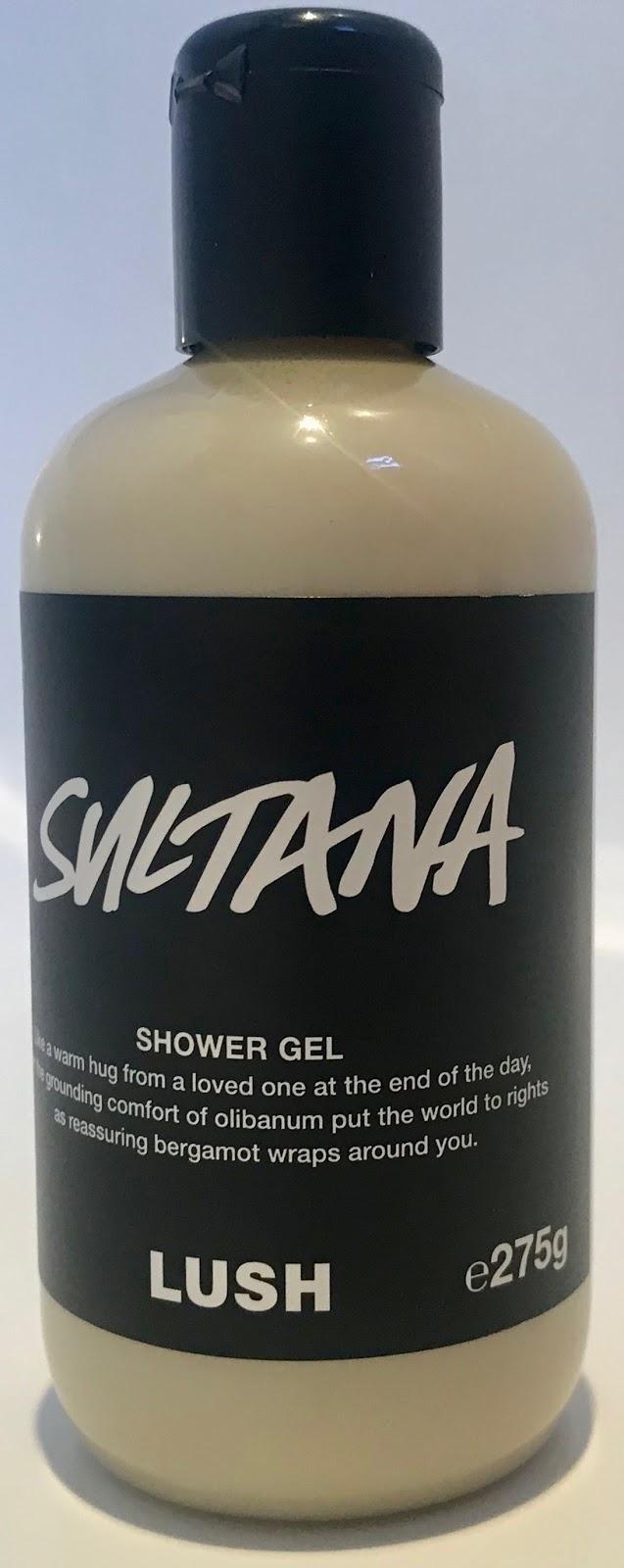 All Things Lush Uk Sultana Shower Gel