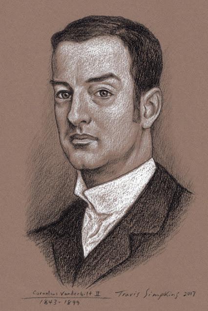 Cornelius Vanderbilt II. 1843-1899. The Breakers. Newport Mansions. by Travis Simpkins