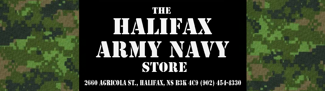 The Halifax Army Navy Store: BULLET BELTS, DOG TAGS AND