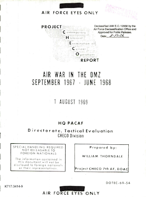 Project Checo Report - Air War in The DMZ 1967-1968