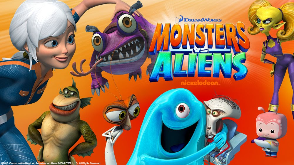 Titans Terrors And Toysa Look At Monsters Vs Aliens The Tv Series