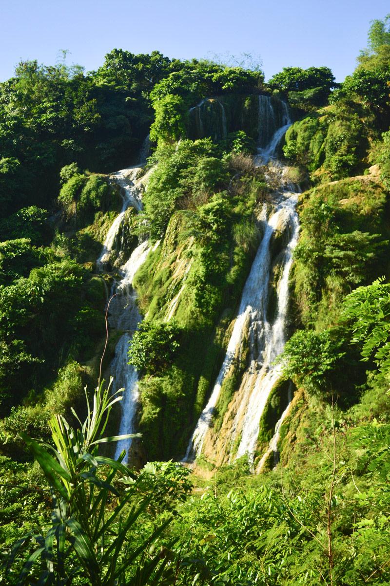 Busay Falls Bani Pangasinan