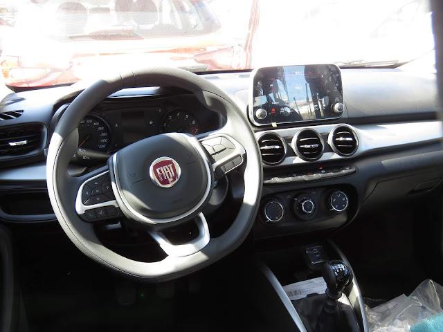 Novo Fiat Argo 2018 - painel
