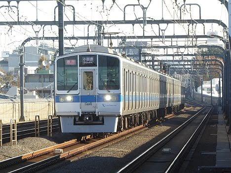 小田急電鉄 急行 小田原行き1 1000形(2018年までのEXPRESS表示)