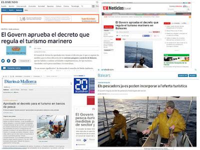 Pescaturismo en los medios de comunicación