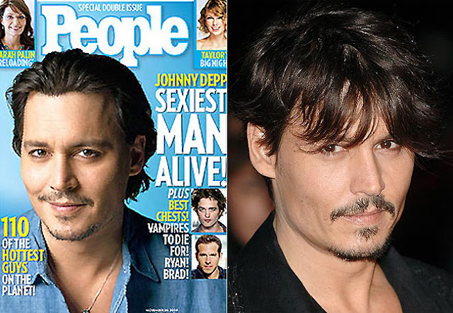 Johnny Depp é o mais sexy do mundo segundo a People