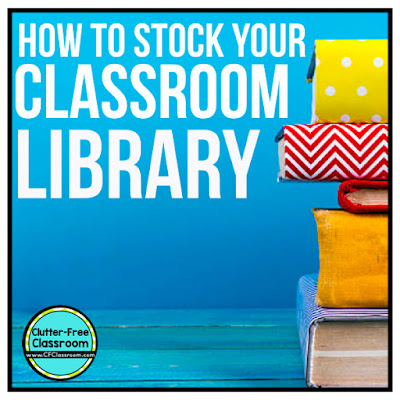 Are you wondering how many books should a classroom library have? How can I get free or cheap books? This blog post answers these questions so you can stock your elementary reading area with tons of great children's books that will get your kids excited about independent reading time. #independentreading #classroomlbrary #books