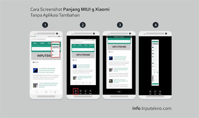 Cara Screenshot Panjang MIUI 9 Xiaomi Tanpa Aplikasi Tambahan
