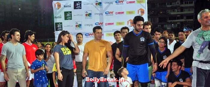Jacqueline Fernandez, Salman Khan, Abhishek Bachchan, Bollywood Celebs play football match for Aamir khan's daughter Ira Khan