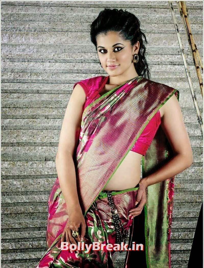 Actress_Taapsee_Pannu_Latest_Trendy_Photoshoot_Gall01, Tapsee Pannu Beautiful Saree Images