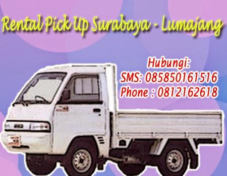 Rental Pick Up Zebra Surabaya-Lumajang