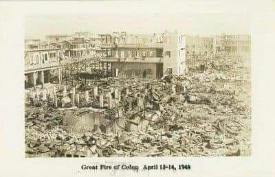 Sucedió un día como hoy hace 78 años, en un día como hoy, se escenifica el más grande incendio en la historia de la Ciudad de Colón.