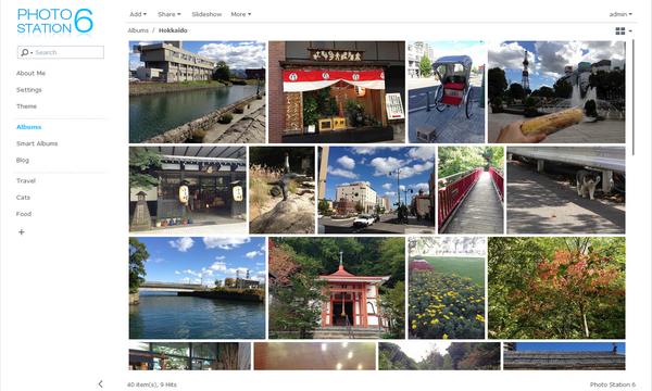 synology photo station smartalbum