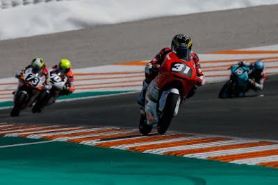 Gerry Salim di CEV Moto3 Valencia