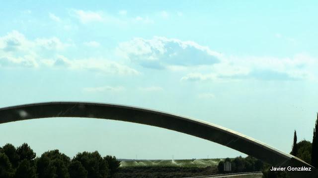 Meridiano de Greenwich cruce con la AP-2 en España