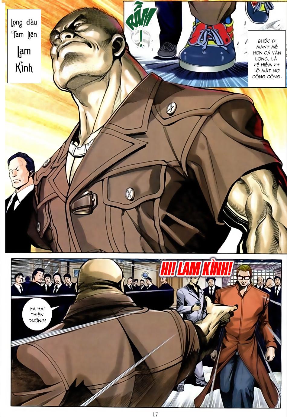 Người Trong Giang Hồ chapter 586: lưỡi chiến quần hùng trang 13