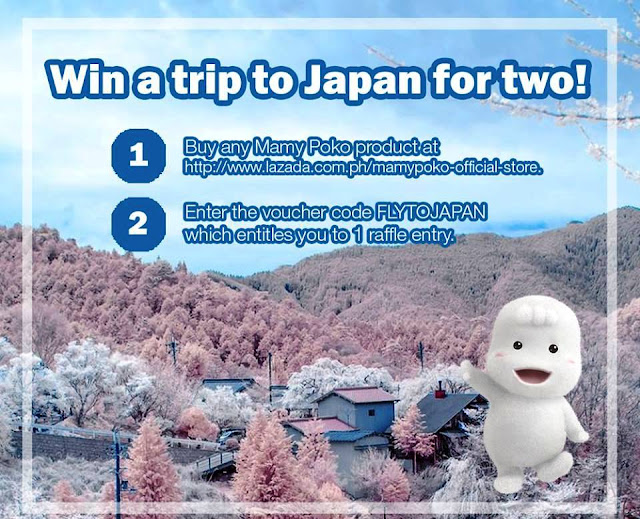 Lazada x Mamy Poko Trip to Japan Promo
