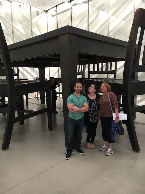 The Broad, art museum, downtown Los Angeles, art, Under The Table, Robert Therrien