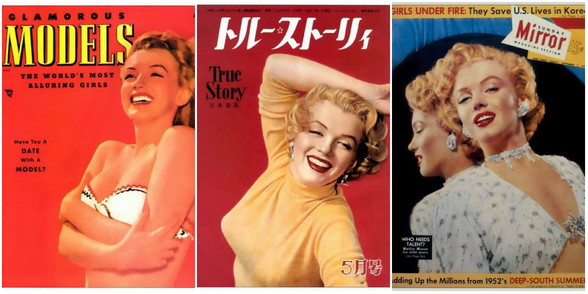 40 Fascinating American and International Magazine Covers of Marilyn Monroe From the Late 1940s to the Early 1960s