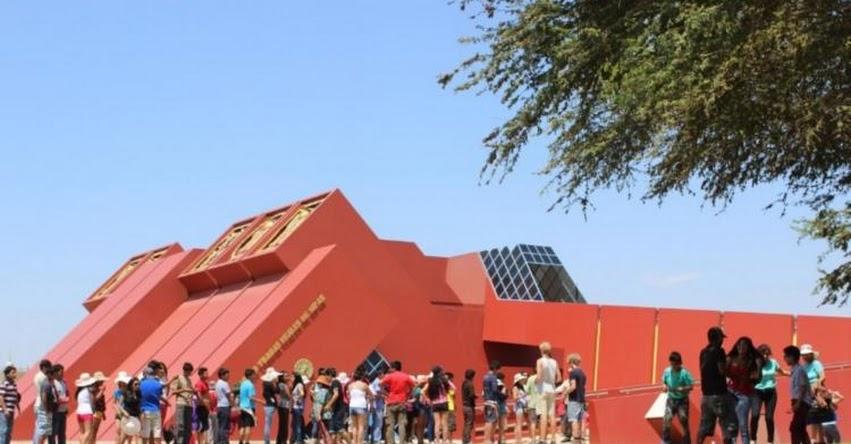 LAMBAYEQUE: Museo Tumbas Reales y Huaca Rajada-Sipán atenderán con normalidad el 2 de enero