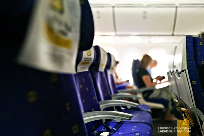 Scoot Review Manila to Singapore to Australia Boeing 787 Dreamliner Seats
