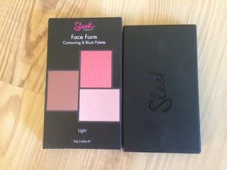 Contouring & blush palette sleek
