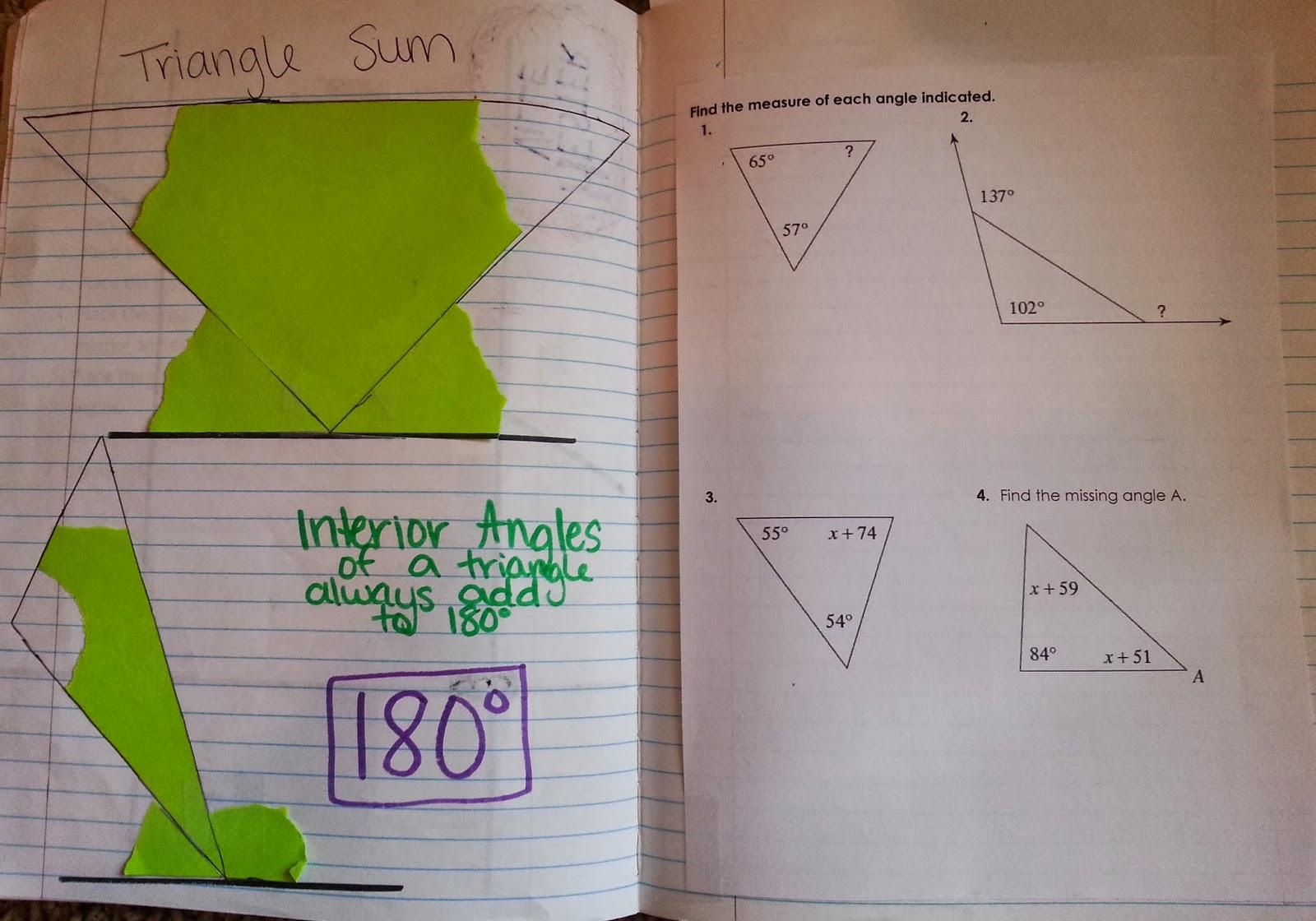 Mrs Hester S Classroom 8th Grade Math Unit 6