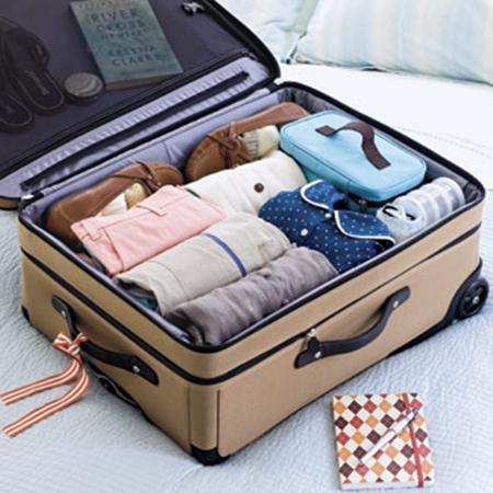Chuẩn bị đồ đi du lịch