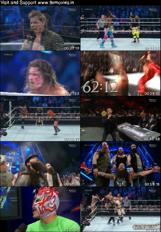 WWE Thursday Night Smackdown 21 Jan 2016 HDTV 480p