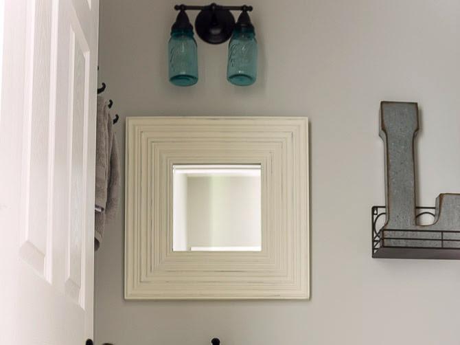 Mini Budget Bathroom Makeover