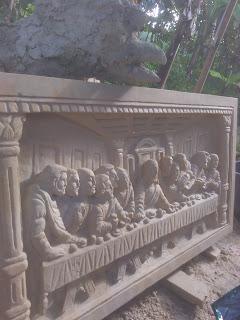 relief perjamuan kudus