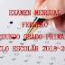"""EXAMEN MENSUAL """"FEBRERO"""" 2° PRIMARIA CICLO ESCOLAR 2018-2019."""