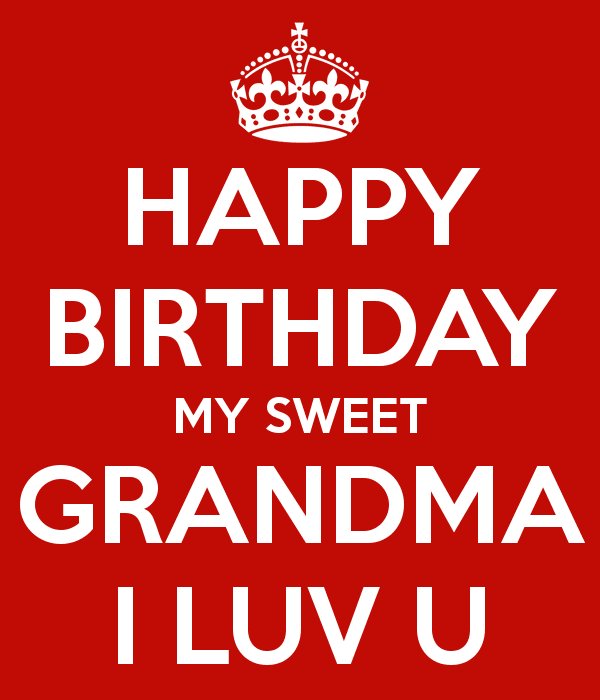 Happy Birthday Messages to Grandma
