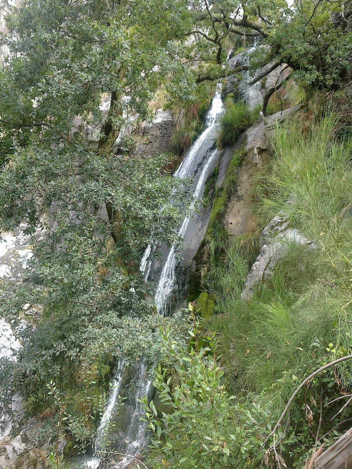 Cascada de Ribasieira en Porto do Son