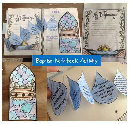Baptism Crafts Crafting