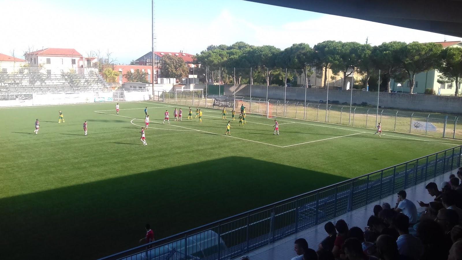 L'Ortona calcio supera il Sulmona con il netto punteggio di 2 a 0.