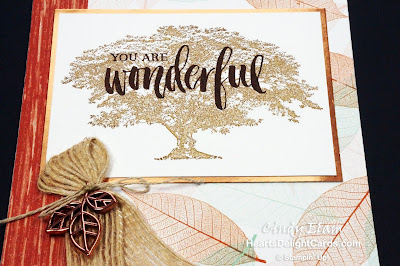 Heart's Delight Cards, Nature's Poem Suite, Rooted in Nature, MIF Suite Designs, Stampin' Up!