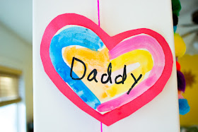 Make Family Heart Banners for Valentine's Day Kids Craft