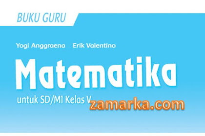 Download Buku Guru Matematika Kelas 5 SD/ MI Kurikulum 2013 Revisi 2017