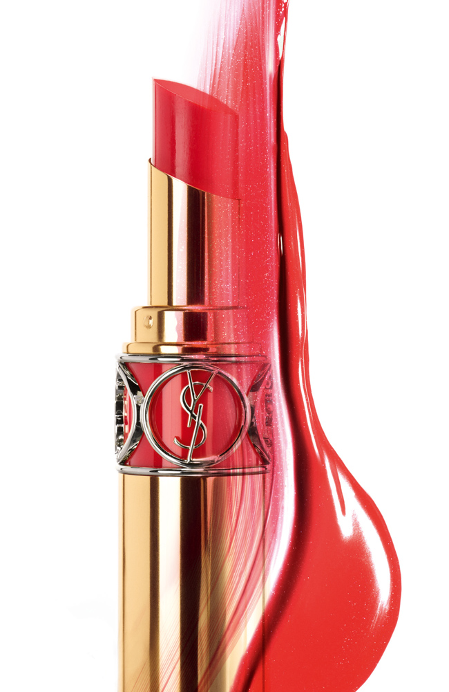 9e0a72d0d7c YSL Deliciousness: New Rouge Volupte Shine Lipstick - Fleur De Force